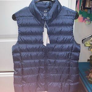 Women's Navy Blue Light Vest